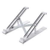 """Laptop Stand, Portable Adjustable Tablet Computer Stand,Aluminum Alloy Folding Laptop Stand Compatible MacBook Air Pro,HP,Lenovo More 8-17.3""""Laptops"""