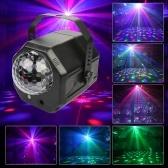 2つのレンズ+1 RGBボールDJディスコステージライトマジックボールレーザーライトパーティーレーザーライト