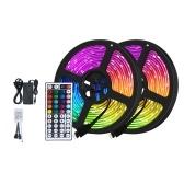 VSS-00591 5m LED Color Changing Strip Lights 5050 LED TV Backlight RGB Strip Light with Infrared Remote