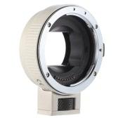Andoer Auto Focus AF EF-NEXII bague d'adaptation pour Canon EF EF-S objectif à utiliser pour Sony NEX E monter 3/3N/5N/5R/7/A7/A7R/A7S/A5000/A5100/A6000 Full Frame