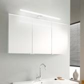 Светодиодный светильник для зеркала, светильники для ванной комнаты, 6000K, освещение для макияжа, косметическое зеркало, настенные светильники