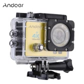 Andoer Q3H Caméra à action panoramique grand angle 4D Ultra HD 25FPS 1080P 60FPS Andoer Q3H