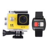 "H8R 2.0 ""LCD 4K 15fps 1080P 60fps Full HD Wifi 30M Étanche 12MP 170 ° Objectif grand angle avec montre à distance Sports Action Camera"