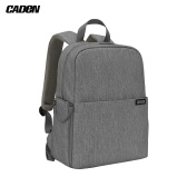 CADeN L4 Waterproof DSLR Camera Backpack Bag Case Travel Shoulder Bag Large Capacity Shockproof for Canon Sony Nikon SLR Camera Lenses Tripods Laptop Accessories