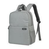 CADeN L4 Waterproof DSLR Camera Backpack Bag Case Travel Shoulder Bag Large Capacity Shockproof for Canon Sony Nikon SLR Camera Lenses Tripods Laptop Accessories