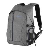 PROWELL Camera Bag Waterproof Shockproof Photography Bagpack Case