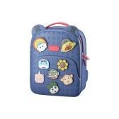 Kids Cartoon Backpack Cute School Bag Waterproof Lightweight Travel Bag Birthday Festival Present for 3-12 Years Old Children Boys Grils