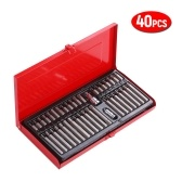 "40PCS 1/2"" 3/8"" Drive Nut Driver Bit Set CR-V Chorme Vanadium Steel Hex Head Socket Screw Bit Kit"