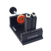 Adjustable Woodworking Double Hole Punch Positioner Punch Locator Kit DIY Woodworking Punching Tool Woodworking Tool Set