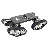 Smart Car Robot 4WD Shock Absorbing Robotic Tank Chassis Kit