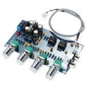 NE5532 Stereo Vorverstärker Vorverstärker Ton Platte 4 Audiokanäle Verstärker