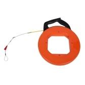 Профессиональный съемник кабеля диаметром 4 мм 30 м 45 м 60 м Дополнительный гибкий планер из стекловолокна Портативная катушка для кабелепровода Инструмент для вытягивания провода