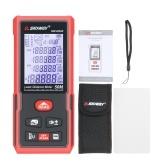 SNDWAY50Mポータブルレーザー距離計ハンドヘルドデジタルレーザー距離計インテリジェント高精度赤外線電子定規レーザー定規距離測定器