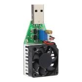 Ajustável constante atual carga eletrônica Tester 0.15-3.00A Poder DC3.7-13V USB