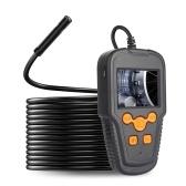 Эндоскопическая камера 2,4-дюймовый ЖК-экран 1080P с высоким разрешением Объектив 3,9 мм Портативный эндоскоп IP68 Промышленные домашние цифровые эндоскопы с 8 светодиодами