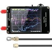 Портативный портативный векторный анализатор цепей Цифровой дисплей 50 кГц-900 МГц с сенсорным экраном Коротковолновые СЧ КВ ОВЧ УВЧ Антенный анализатор Стоячие волны