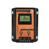 12電圧/ 24電圧自動認識ソーラーコントローラー30A