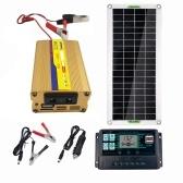 Panneau solaire flexible de panneau solaire polycristallin 30W pour la voiture de camping voyageant l