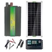 30 Вт Солнечная панель Гибкая солнечная панель для кемпинга Автомобиль Путешествие Открытый аксессуар для аварийного питания 10A