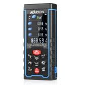 KKmoon 100m portátil de bateria Laser Digital Medidor de distância Color Display Range Finder Diastimeter Área de medição de volume com Ângulo Indicação de alta precisão Rangefinder
