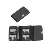 Kit multifunzionale portatile multifunzionale universale 25 in 1 kit di attrezzi di riparazione di apertura del cacciavite per il pacchetto del sacchetto del raccoglitore del telefono del telefono delle cellule del telefono delle cellule
