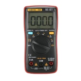 RM109 Multímetro digital True-RMS Palm-size 9999 contam Retroiluminação de onda quadrada Voltagem CC CC Amperímetro Corrente Ohm Auto / Manual