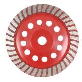 180 мм 7-дюймовый алмазный сегмент шлифовального круга Дисковая чаша Форма шлифовальной чашки 22 мм Внутренняя дыра для бетона Гранит Каменная кладка Керамика Терраццо Мраморная строительная индустрия