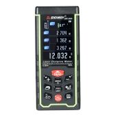 50m Mini Handheld LCD Digital Laser Distance Meter Buscador de alcance USB Distância Área Volume Medição 100 Grupos Armazenamento de dados