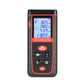 40m Mini Handheld LCD Digital Laser Distance Meter High-precision Rangefinder Distance Area Volume Measurement 30 Groups Data Storage