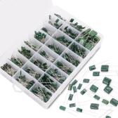 Custodia in plastica Kit di assortimento di condensatori per film in poliestere di Mylar 700 pezzi 24 pezzi da 0,22 NF a 470 NF / 100 V