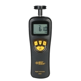 SMART SENSOR Handheld Contact LCD Цифровой тахометр Спидометр Tach Meter Wide Measureing Rang 0.5 ~ 19999 RPM
