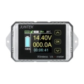 JUNTEK DC 0.01-100V 0.01-100A多機能ワイヤレスデジタル双方向電圧電流電力計電流計電圧計容量クーロンカウンタ