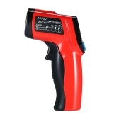 -50~550℃(-58~1022℉) Handheld Non-contact IR Infrared Thermometer 12:1 Digital Temperature Tester Pyrometer Color LCD Display with Backlight Centigrade Fahrenheit Adjustable Emissivity