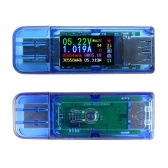 AT34 USB3.0 Color LCD Display Voltage Current Meter Multifuncional USB Tester