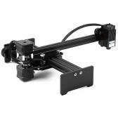 Graveur de bureau portable de gravure au laser USB de bureau 1600mw découpant la machine mini Carver imprimante de marque de logo de laser de bricolage avec la zone de travail de verres de protection 170mm * 200mm