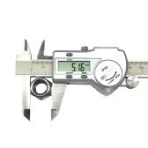 防水デジタルステンレス鋼のキャリパーmm /インチLCD表示ノギスIP54