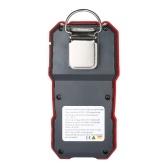 wintact Hochpräzises CO-Messgerät Professioneller tragbarer CO-Konzentrationsdetektor mit 120000-LCD-Datenerfassungsdisplay und Sound-Light- und Vibrationsalarm 0-1000μmol / mol