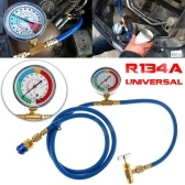 Recharge Measuring Hose 1.5m R134A Car Air Conditioning Refrigerant Pressure Gauge Recharge Charging Hose