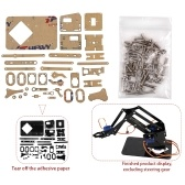 DIY Robot Hand Mechanical Arm Robotic Claw Set Suitable for SG90 UNO Desktop DIY Kit