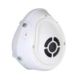 i-muハーフフェイススマート電動マスクと調整可能なシリコンフック&ループストラップ自動防塵マスク空気清浄マスク
