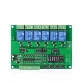 Módulo de relé programable de 5V CC de 6 canales
