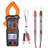 NEJE 600A AC/DC Digital Clamp Meter with Temperature Auto Ranging Multimeter with Audible Continuity Beep True-RMS Clamp Meter