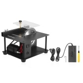 Multi-Functional Table Saw Mini Desktop Saw Cutter Electric Cutting Machine with Saw Blade Adjustable-Speed 35MM Cutting Depth for Wood Plastic Acrylic Cutting