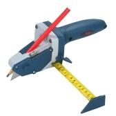 All-in-One-Schneidwerkzeug für Gipskartonplatten mit Maßband und Universalmesser Markieren und Schneiden von Trockenbauschindeln Isolierfliesen Teppichschaum