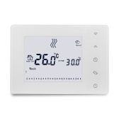 HY05RF Wifi 433Hz Multifunktionaler LCD-Touchscreen Intelligenter Thermostat Wandkesselthermostat Heimtemperaturregler
