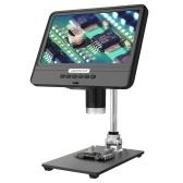 Andonstar AD2088.5インチLCDディスプレイ画面5X-1200Xデジタル顕微鏡1280 * 800、携帯電話修理回路基板溶接用(バッテリーなし)