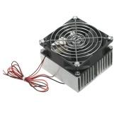KKmoon 12V Термоэлектрический охладитель Пельтье Холодильная система охлаждения Полупроводниковый модуль Модуль радиатора DIY Электронные компоненты для небольшого холодильника Кондиционер Другие охлаждающие устройства
