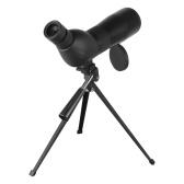 三脚HD単眼ポータブル15X-45Xズーム接眼レンズを備えたBeileshiスポッティングスコープバードウォッチング、星空観察、狩猟用ストレートまたはアングル