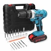 Taladro eléctrico multifuncional 3 en 1 para el hogar, mini destornillador, formas de rotación, 25 engranajes de torque ajustables
