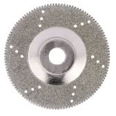 "100mm 4 ""Inch diamant Coated Rectification Polissage Grind disque de scie Diamètre lame 16mm Inner Wheel Rotary Grit Pour Angle Grinder"